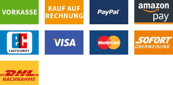 Zahlungsarten bei GRANAR
