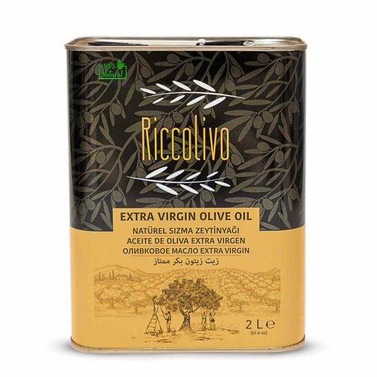 2 Liter Premium Olivenöl Extra Nativ von Riccolivo