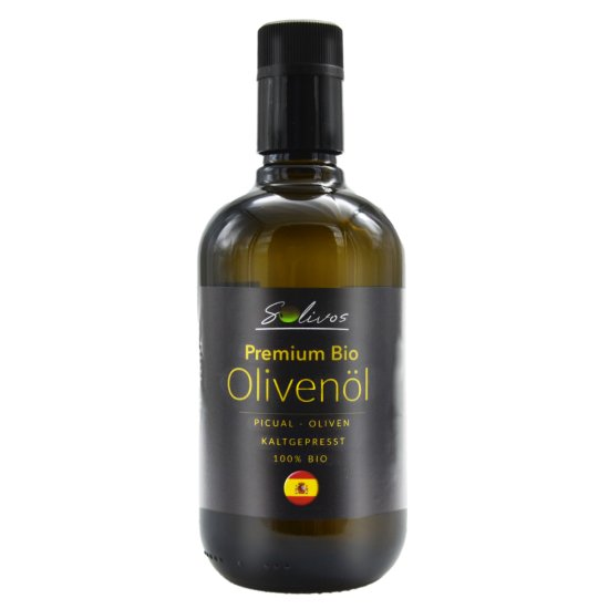 500ml Bio Olivenöl aus Andalusien - Picual Oliven