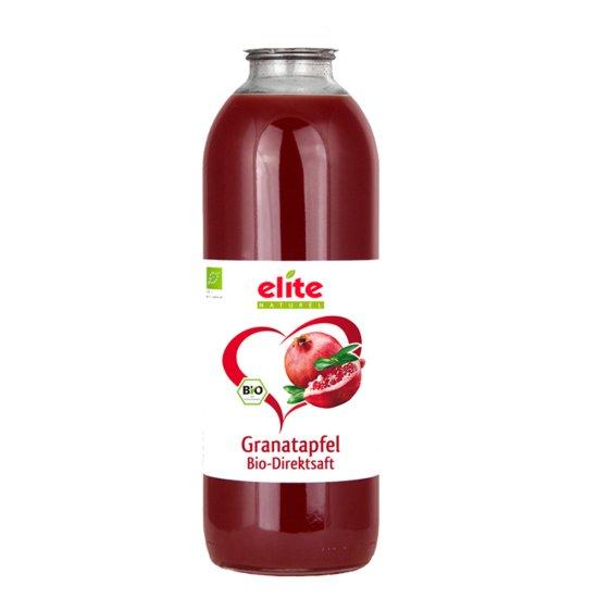 6 x 700ml Bio Granatapfel Direktsaft von Elite Naturel