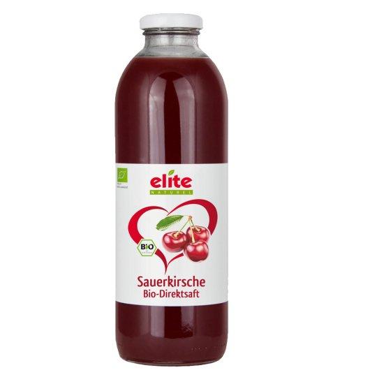 Bio Sauerkirsche Direktsaft von Elite Naturel