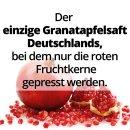 Granatapfel Direktsaft aus Kernpressung von GRANAR Selection