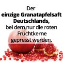18 x 1 l Granatapfel Direktsaft aus Kernpressung von GRANAR Selection
