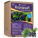 5 Liter Aronia Direktsaft in der Saftbox von Obsthof...