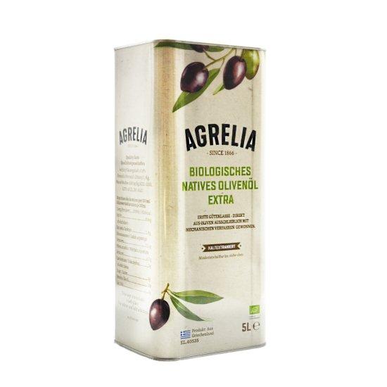 5 L Bio Olivenöl Extra Nativ von Agrelia