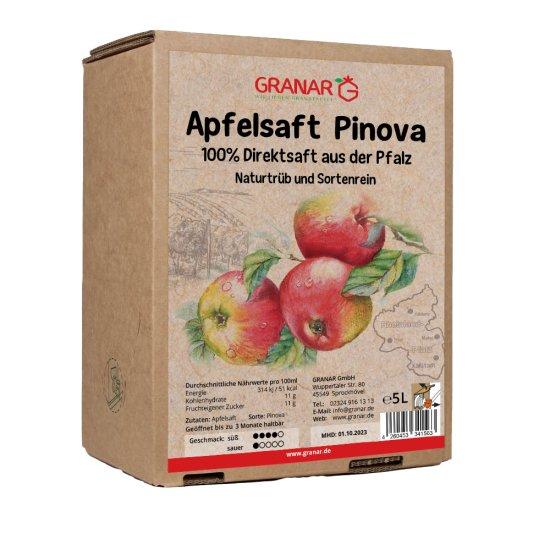 5 Liter-Box Apfel Direktsaft Pinova aus der Pfalz