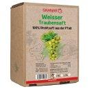 3 Liter-Box weißer Traubensaft aus der Pfalz